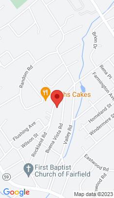 Map of Single Family Home on 431 Wilson Street,Fairfield, CT