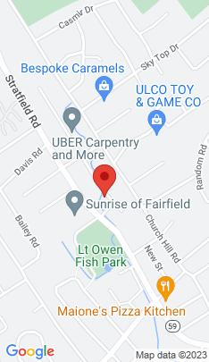 Map of Single Family Home on 65 Bennett Street,Fairfield, CT