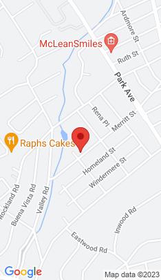Map of Single Family Home on 1220 Merritt Street,Fairfield, CT