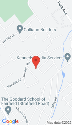 Map of Single Family Home on 161 Woodbine Lane,Fairfield, CT