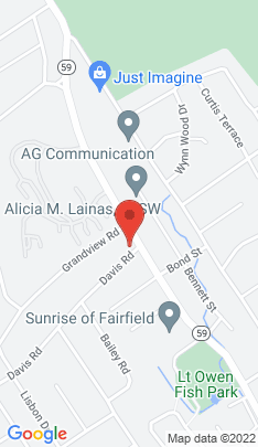 Map of Single Family Home on 14 Davis Road,Fairfield, CT
