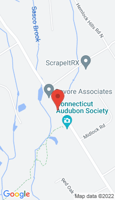 Map of single family home on 2453 Burr Street,Fairfield, CT