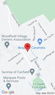 Map of Single Family Home on 215 Bennett Street,Fairfield, CT
