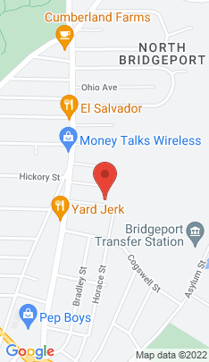 Map of Multi Family Home on 95 Berkeley Place,Bridgeport, CT