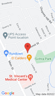 Map of Single Family Home on 1124 Lindley Street,Bridgeport, CT