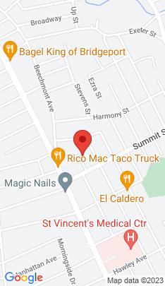 Map of Multi Family Home on 46 Amos Street,Bridgeport, CT