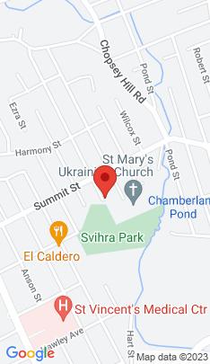 Map of Single Family Home on 40 Greenwood Street,Bridgeport, CT