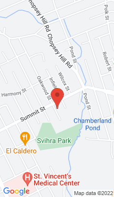 Map of Single Family Home on 80 Oakwood Street,Bridgeport, CT