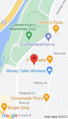 Map of Single Family Home on 116 Edna Avenue,Bridgeport, CT
