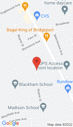 Map of Single Family Home on 144 Keeler Avenue,Bridgeport, CT