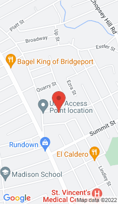 Map of Multi Family Home on 76 Harmony Street,Bridgeport, CT