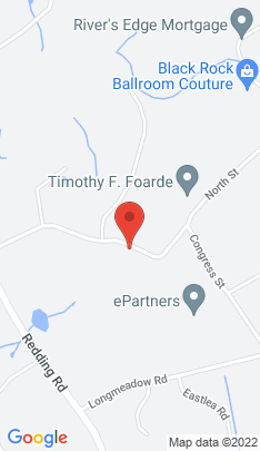 Map of single family home on 2575 North Street,Fairfield, CT