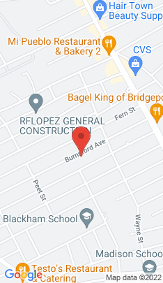 Map of Single Family Home on 255 Burnsford Avenue,Bridgeport, CT