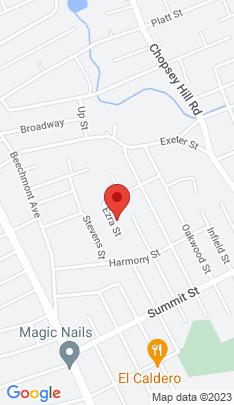 Map of Single Family Home on 640 Ezra Street,Bridgeport, CT