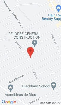 Map of Single Family Home on 398 Queen Street,Bridgeport, CT
