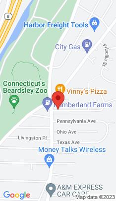 Map of Condo Home on 61 Louisiana Avenue,Bridgeport, CT