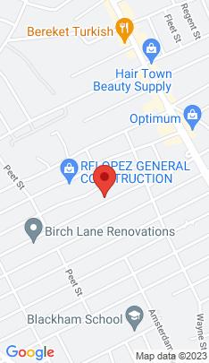 Map of Multi Family Home on 256 Queen Street,Bridgeport, CT