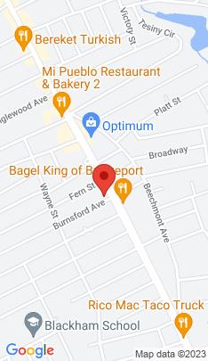 Map of Multi Family Home on 3589 Main Street,Bridgeport, CT