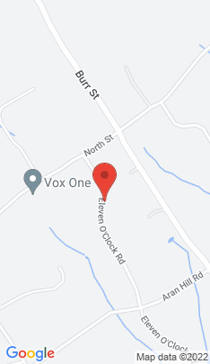 Map of Single Family Home on 110 Eleven O'clock Road,Fairfield, CT