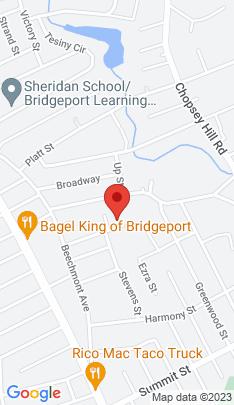 Map of Single Family Home on 135 Higgins Avenue,Bridgeport, CT
