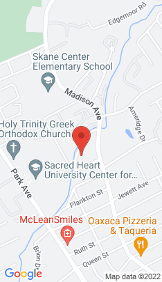 Map of Single Family Home on 129 Rooster River Boulevard,Bridgeport, CT