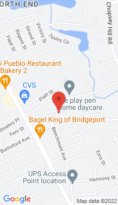 Map of Single Family Home on 149 Broadway ,Bridgeport, CT