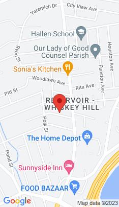 Map of Single Family Home on 66 Moffitt Street,Bridgeport, CT