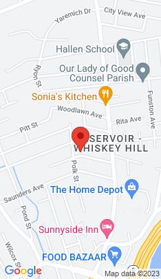 Map of Single Family Home on 114 Moffitt Street,Bridgeport, CT