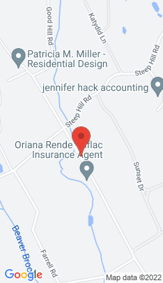 Map of Single Family Home on 225 Good Hill Road,Weston, CT