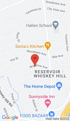 Map of Single Family Home on 360 Polk Street,Bridgeport, CT