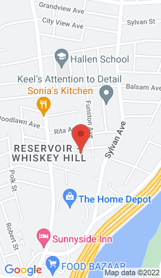 Map of Single Family Home on 38 Pershing Avenue,Bridgeport, CT