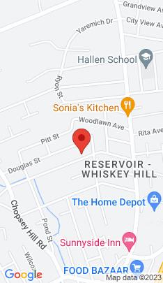 Map of Single Family Home on 176 Woodrow Avenue,Bridgeport, CT