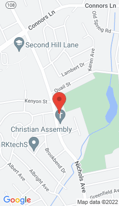 Map of Single Family Home on 1370 Nichols Avenue,Stratford, CT