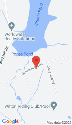 Map of Single Family Home on 75 Olmstead Hill Road,Wilton, CT