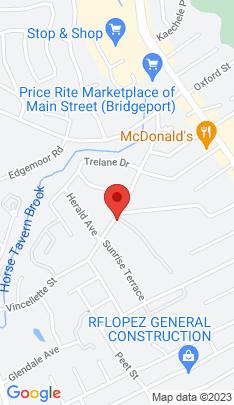 Map of Condo Home on 333 Vincellette Street,Bridgeport, CT