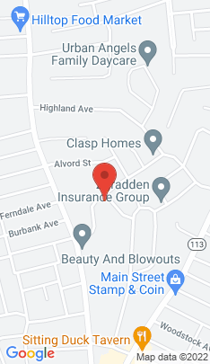 Map of Single Family Home on 427 Parkway Drive,Stratford, CT