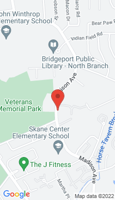 Map of Condo Home on 3100 Madison Avenue,Bridgeport, CT