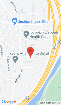Map of Single Family Home on 61 Balsam Avenue,Bridgeport, CT