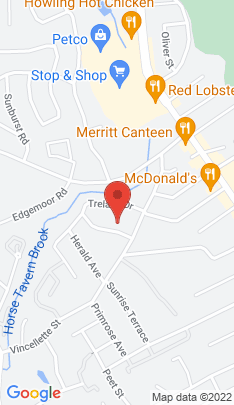 Map of Single Family Home on 50 Beauvue Terrace,Bridgeport, CT