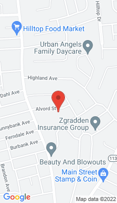 Map of Single Family Home on 115 Alvord Street,Stratford, CT