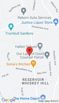 Map of Single Family Home on 25 Platt Street,Bridgeport, CT