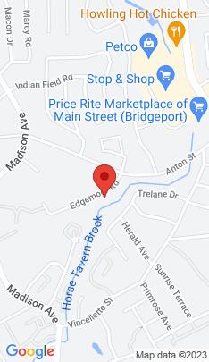 Map of Single Family Home on 75 Edgemoor Road,Bridgeport, CT
