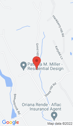 Map of Residential Property on 329 Good Hill Road,Weston, CT