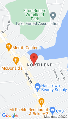 Map of Multi Family Home on 42 Charron Street,Bridgeport, CT