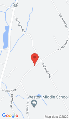 Map of Single Family Home on 34 Lords Highway,Weston, CT
