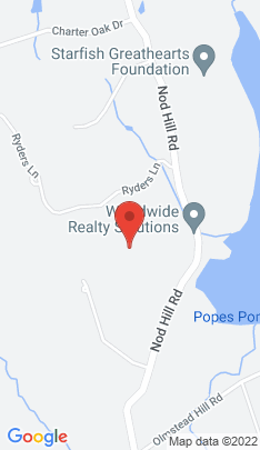 Map of Mansion on 125 Nod Hill Road,Wilton, CT