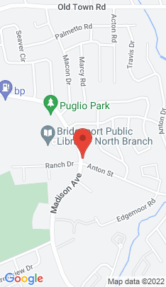Map of Condo Home on 3370 Madison Avenue,Bridgeport, CT