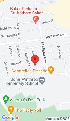 Map of Single Family Home on 29 Leonard Drive,Bridgeport, CT