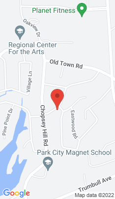 Map of Single Family Home on 295 Red Oak Road,Bridgeport, CT
