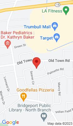 Map of Single Family Home on 55 Derman Circle,Bridgeport, CT